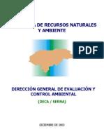 Documento DECA–05-2002, Aspectos básicos sobre las modificaciones a ka Ley General del Ambiente y Nuevo Proceso de Licenciamiento Ambiental.