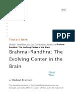 Kundaline and Brama Randhara