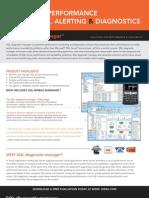 SQL Diagnostic Manager Datasheet