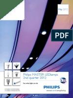 Brochure MASTER LEDlamps 2nd Quarter 2012