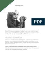 10 Nasehat Bijak Einstein Tentang Hidup Sukses