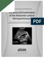 AIUM Practice Guideline