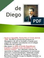 José de Diego biografia