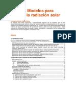 Metodos de Medicion de La Radiacion Solar
