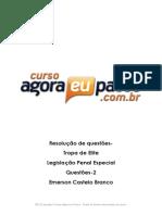 AEP_Resolucao de Questao_Tropa de Elite_Legislacao Penal Especial_Emerson Castelo Branco