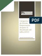 Dicas de Direito Empresarial Arq II