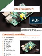 Joomla on Raspberry Pi (with Nginx) - Joomladay Germany 2013