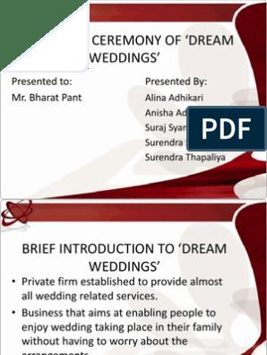wedding planner project | Wedding | Marriage