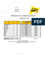 Mensualitats 2013-2014
