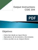 Pres3 Instruciones de Input Output 2012 JAVA