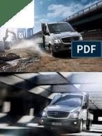 Broschuere Der Neue Sprinter Pritschenwagen Fahrgestelle 07 2013