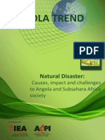 NATURAL DISASTERS- Causes, Impact and Challenges to Angolan and Subsahara Africa Society