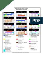 Calendar i o Pre Grado 1