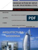Arquitectura Peruana Moderna