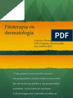 Fitoterapia en Dermatologia