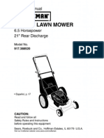 Craftsman Mower 917.388520 - L0309180