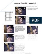 How to Memorize Chords