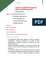 Ficha de Lectura -Parco -Manfred