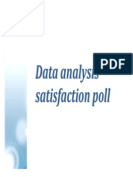 BayesiaLab Satisfaction Poll Analysis
