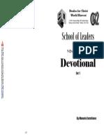 Devotional 1