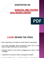 Global financial meltdown and Bangladesh