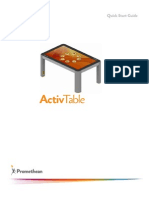 ActivTable Quick Start Guide