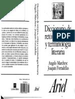 MARCHESE FORRADELLAS Diccionario de retórica