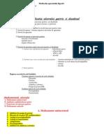 Medicatia aparatului digestiv