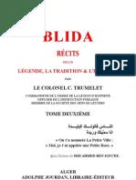 Blida_LÉGENDE, LA TRADITION & L'HISTOIRE_Tome2