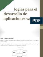 Tecnologías para el desarrollo de  aplicaciones web (2)