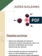 AS REACÇÕES NUCLEARES