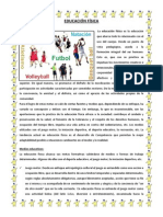 EDUCACIÓN FÍSICA Y CICLO DEL AGUA