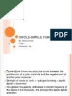 Dipole Dipole Presentation chem