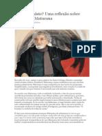 O TDAH existe uma reflexão sobre Humberto Maturana