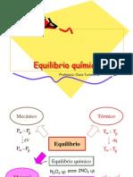 Equilibrio químico 2009-1