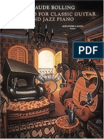 Concerto for Classic Guitar & Jazz Piano - Claude Bolling