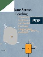 Plane Stress Loading