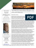 Carta Misionera Agosto 2013