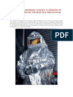 Variación de la percepción visual por la utilización de Equipos de Protección Individual para intervenciones NRBQ