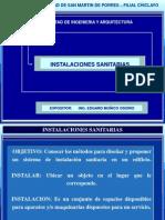 Diapositiva Inst. Sanitarias Usmp