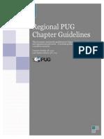 Regional PUG Guidelines