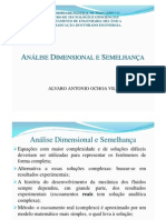 Anc3a1lise Dimensional e Semelhanc3a7a Dinc3a2mica Corrigido