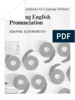 Teaching English Pronunciation -JOANNE KENWORTHY | Accent