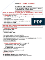 Fournitures Classe Mme Guerreau CP