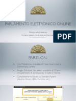 Presentazione PARELON Per I Codici Della Democrazia, Milano