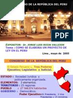 Exposicion Taller Iniciativa Legal en El Peru