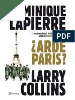 Arde Paris - Dominique Lapierre , Larry Collins