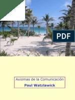 Resumen Axiomas de Watzlawick