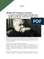 artículo Álvaro Mutis prensa colombiana