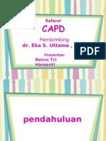 Referat CAPD Shanty -- BISMILLAH